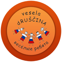 Логотип школы «Веселые ребята»